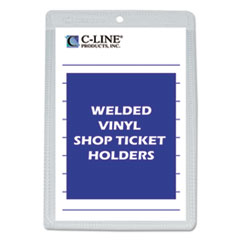 CLI 80058 C-Line Clear Vinyl Shop Ticket Holders CLI80058