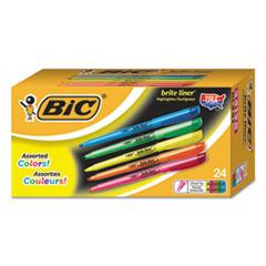 BIC BL24ASST BIC  Brite Liner  Highlighter BICBL24ASST