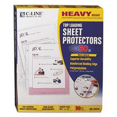 CLI 62018 C-Line Polypropylene Sheet Protector CLI62018