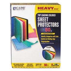 CLI 62010 C-Line Colored Sheet Protectors CLI62010