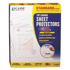 CLI 62038 C-Line Polypropylene Sheet Protector CLI62038
