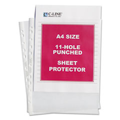 CLI 08037 C-Line A4 Standard Weight Sheet Protector CLI08037