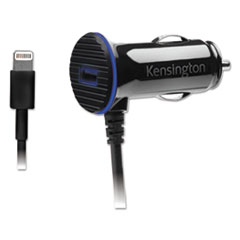 KMW 39794 Kensington PowerBolt 3.4 Dual Port Fast Charge Car Charger KMW39794