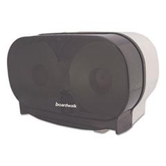 BWK CT205SBBW Boardwalk Standard Twin Toilet Tissue Dispenser BWKCT205SBBW