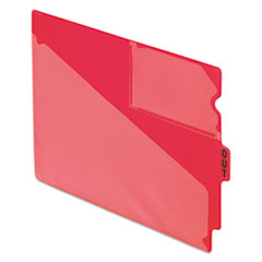 PFX 13541 Pendaflex Colored Poly Out Guides with Center Tab PFX13541