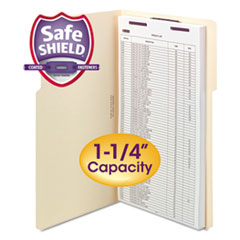SMD 19575 Smead Extra-Capacity Manila Fastener Folders With SafeSHIELD Coated Fasteners SMD19575
