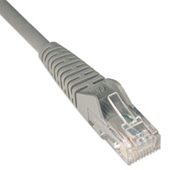 TRP N201007GY Tripp Lite CAT6 Snagless Molded Patch Cable TRPN201007GY