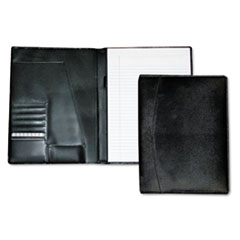 BUX OC87795BK Buxton Classic Leather Pad Folio & Writing Pad BUXOC87795BK