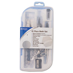 ACM 15420 Westcott Ten-Piece Math Set ACM15420