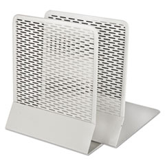 AOP ART20008WH Artistic Urban Collection Punched Metal Bookends AOPART20008WH