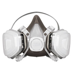 MMM 53P71 3M Half Facepiece Disposable Respirator Assembly MMM53P71