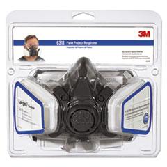 MMM 6311PA1A 3M Half Facepiece Paint Spray/Pesticide Respirator MMM6311PA1A