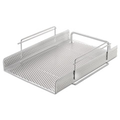 AOP ART20002WH Artistic Urban Collection Punched Metal Letter Tray AOPART20002WH