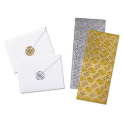 QUA 46910 Quality Park Decorative Foil Envelope Seals QUA46910