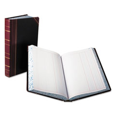 BOR 9500J Boorum & Pease Journal with Black and Red Cover BOR9500J