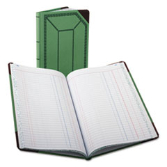 BOR 6718150J Boorum & Pease Journal with Green and Red Cover BOR6718150J