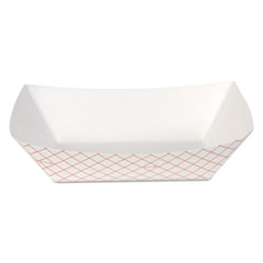 DXE RP2508 Dixie Kant Leek Polycoated Paper Food Tray DXERP2508