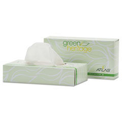 APM 072A Resolute Tissue Green Heritage Professional Facial Tissue APM072A