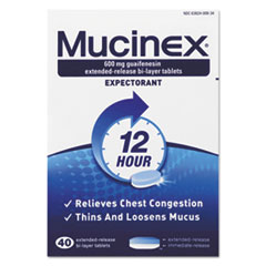 RAC 00840 Mucinex Expectorant Regular Strength RAC00840