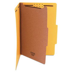 UNV 10214 Universal Bright Colored Pressboard Classification Folders UNV10214