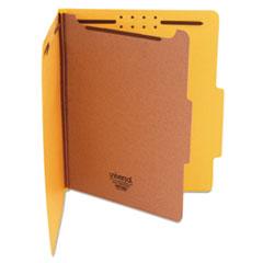 UNV 10204 Universal Bright Colored Pressboard Classification Folders UNV10204