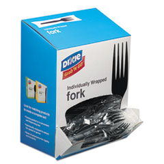 DXE FM5W540PK Dixie Grab'N Go Wrapped Cutlery DXEFM5W540PK