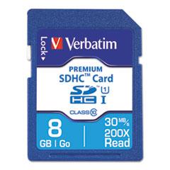 VER 96318 Verbatim Premium SDHC Cards VER96318