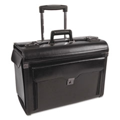 BND 546110BLK STEBCO Bond Street Collection Catalog Case on Wheels BND546110BLK