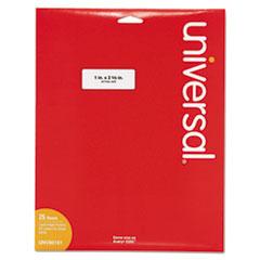 UNV 80101 Universal White Labels UNV80101