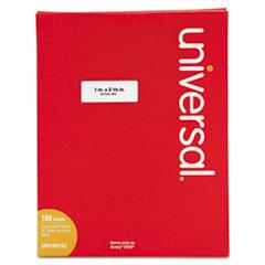 UNV 80102 Universal White Labels UNV80102