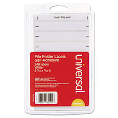 UNV 60101 Universal Self-Adhesive Permanent File Folder Labels UNV60101