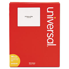 UNV 80108 Universal White Labels UNV80108