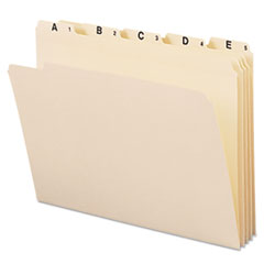 SMD 11777 Smead Indexed File Folder Sets SMD11777
