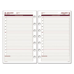 DRN 061125Y AT-A-GLANCE Day Runner Daily Planning Pages DRN061125Y