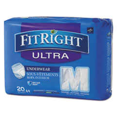 MII FIT23005A Medline FitRight Ultra Protective Underwear MIIFIT23005A