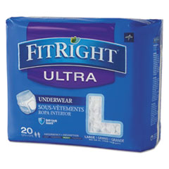 MII FIT23505A Medline FitRight Ultra Protective Underwear MIIFIT23505A