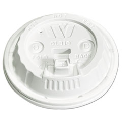 WCP DLB18 WinCup Plastic Lids for Foam Cups WCPDLB18