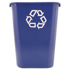 RCP 295773BE Rubbermaid Commercial Deskside Recycling Container RCP295773BE