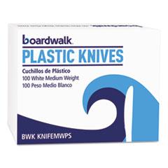 BWK KNIFEMWPSBX Boardwalk Mediumweight Polystyrene Cutlery BWKKNIFEMWPSBX