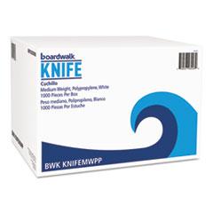 BWK KNIFEMWPP Boardwalk Mediumweight Polypropylene Cutlery BWKKNIFEMWPP