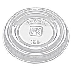 FAB XL100PC Fabri-Kal Portion Cup Lids FABXL100PC