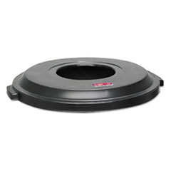 RCP 9W13BLACT Rubbermaid Commercial Landmark Series Light-Duty Waste Container Lid RCP9W13BLACT