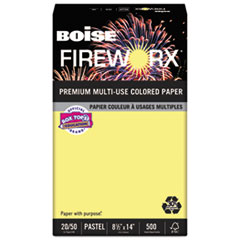 CAS MP2204CY Boise FIREWORX Premium Multi-Use Colored Paper CASMP2204CY