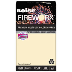 CAS MP2204IY Boise FIREWORX Premium Multi-Use Colored Paper CASMP2204IY