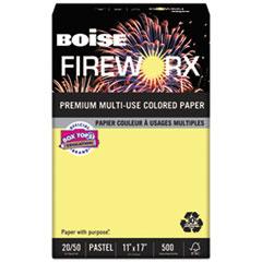CAS MP2207CY Boise FIREWORX Premium Multi-Use Colored Paper CASMP2207CY