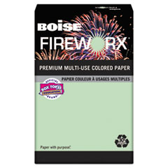 CAS MP2207GN Boise FIREWORX Premium Multi-Use Colored Paper CASMP2207GN