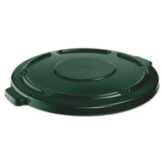 RCP 264560DGR Rubbermaid Commercial Vented Round Brute Lid RCP264560DGR