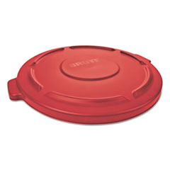 RCP 261960RED Rubbermaid Commercial Round Brute Lid RCP261960RED