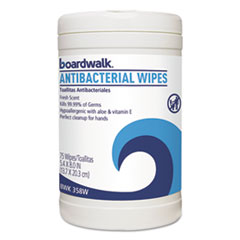 BWK 358WEA Boardwalk Antibacterial Wipes BWK358WEA
