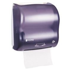 SJM T7500TBK San Jamar Simplicity Mechanical Roll Towel Dispenser SJMT7500TBK